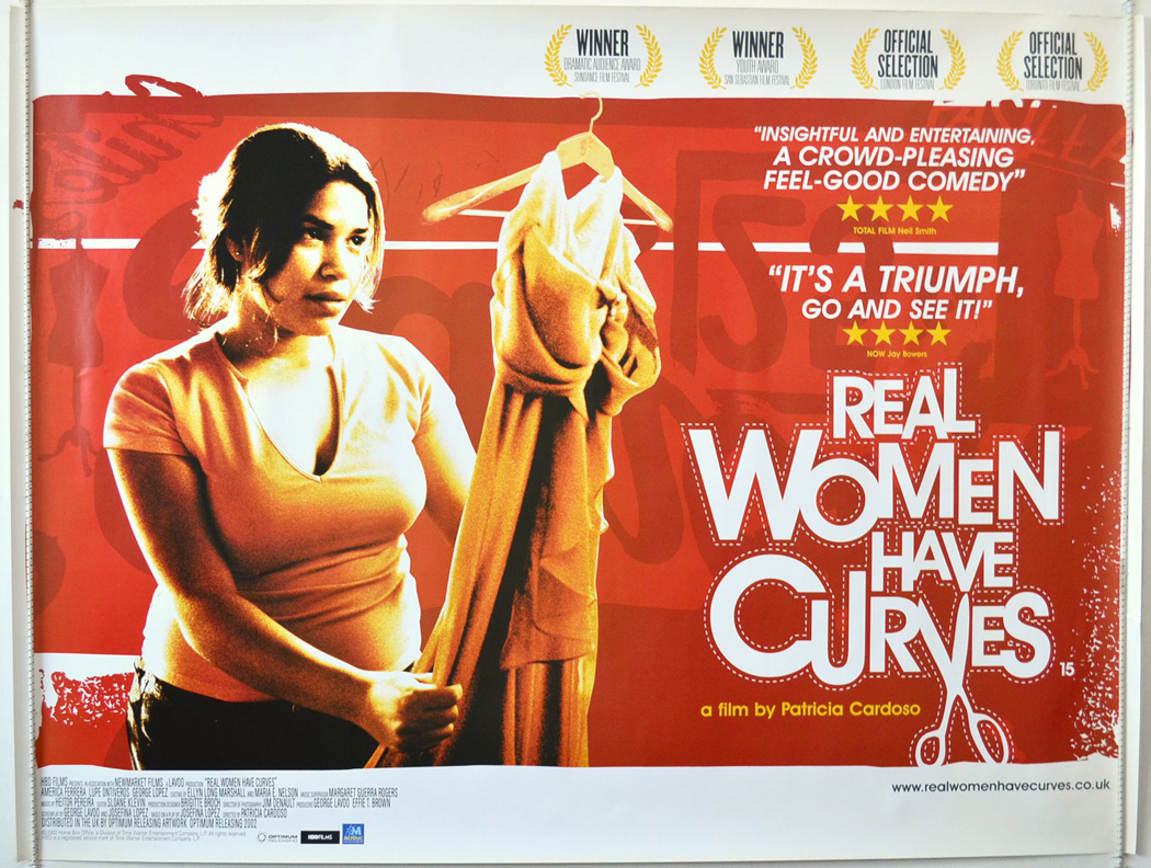 real women have curve Real women have curves still featuring america ferrera in an interview with hoy los angeles, real women have curves writer josefina lópez said that watching lady bird was like watching her own film and the play of the same name it was based on.